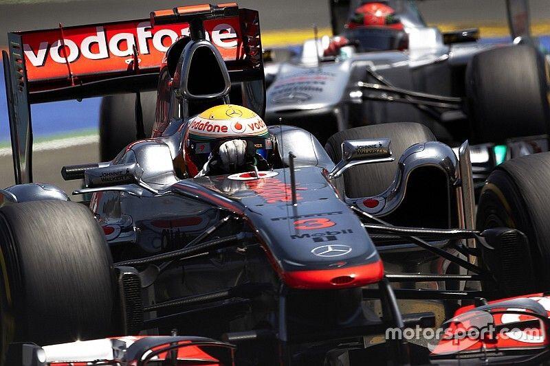 """Jordan: Hamilton """"ya superó"""" a Schumacher"""