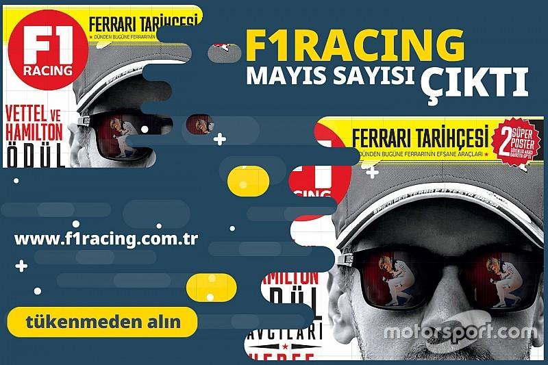 F1 Racing'in yeni sayısında neler var?