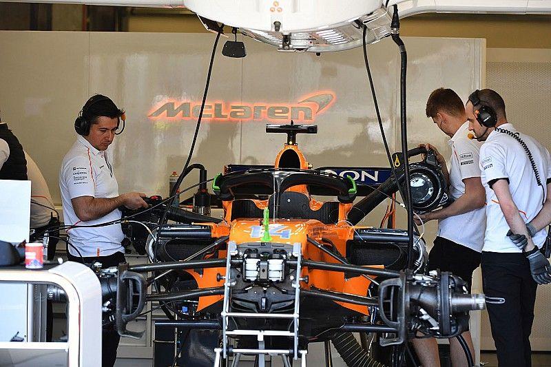 McLaren realiza cambios en su equipo técnico