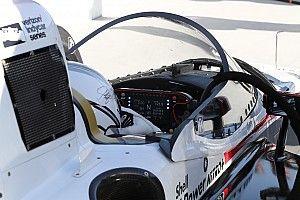 GALERÍA: prueba del Aeroscreen en Indianápolis