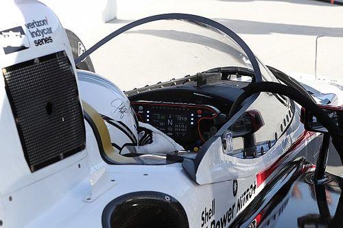 GALERIA: O primeiro teste do windscreen em Indianápolis