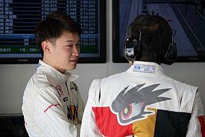 スーパーフォーミュラ初参戦の阪口晴南「F3で走った時とは景色が違う」