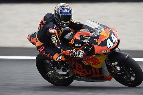 Moto2 Italia: Oliveira taklukkan Baldassarri, Mir podium lagi