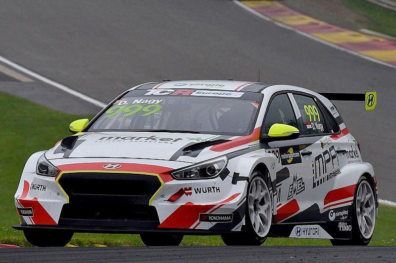 Hungaroring, Libere 1: comincia la lotta Honda-Hyundai con Nagy davanti a Files