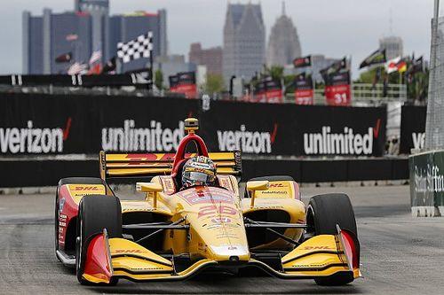 デトロイト・レース2:ハンター-レイ怒涛の追い上げで優勝。琢磨17位