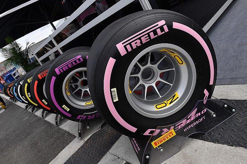 Neumáticos blandos para el GP de México