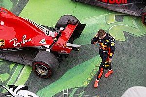 """Verstappen in de wolken met podiumplek: """"Een hele goede wedstrijd"""""""