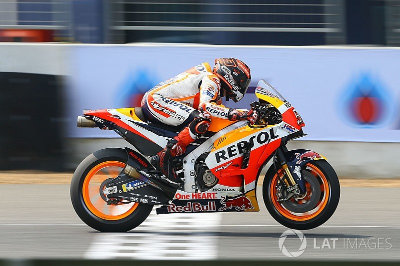 Honda Settled On More Aggressive Engine Says Marquez