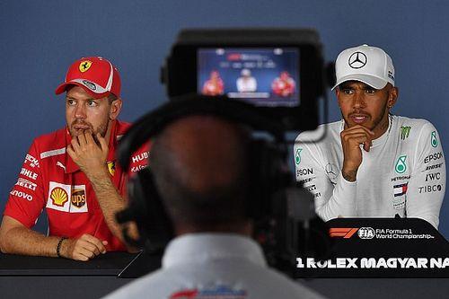 """Coulthard: """"La lucha entre Hamilton y Vettel quedará en la historia"""""""
