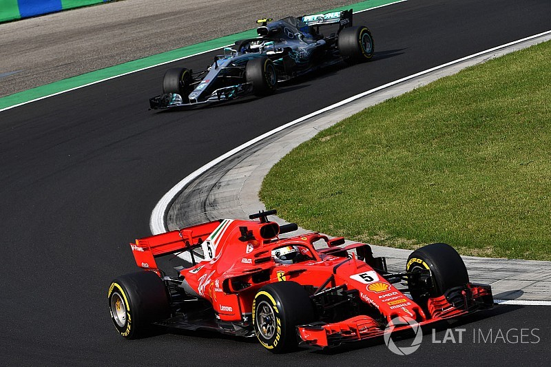 Hungarian GP: Vettel quickest in incident-filled FP3
