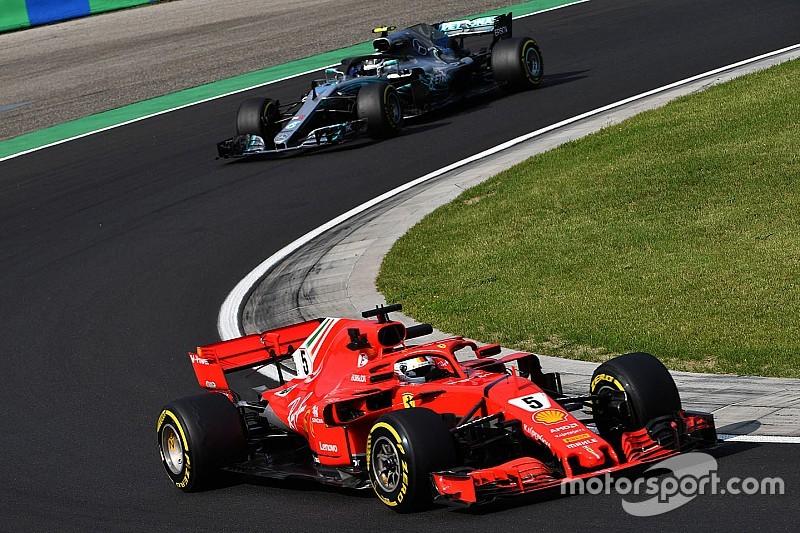 Vettel startta atak yapmayı hedefliyor, Hamilton kendisine güveniyor