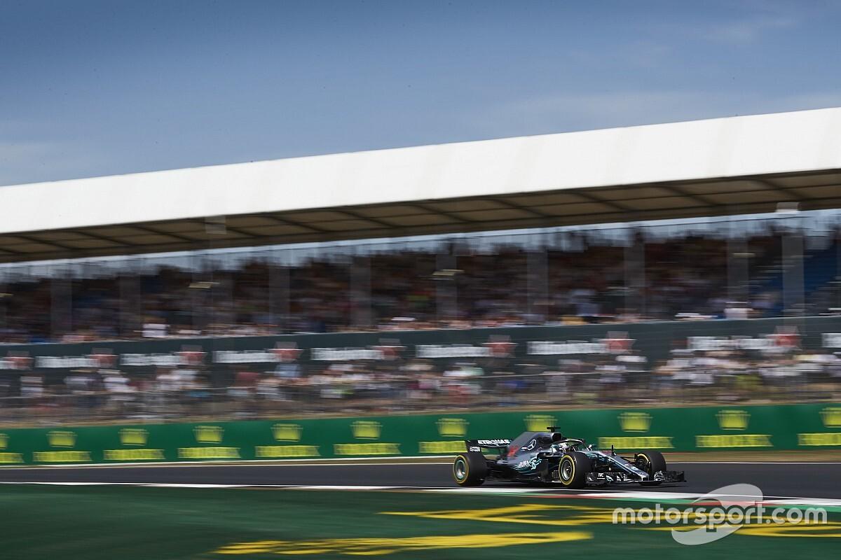 Mercedes plant tweedaagse test op Silverstone