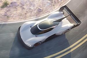 Volkswagen, elekrikli Pikes Peak aracının ilk görüntülerini yayınladı