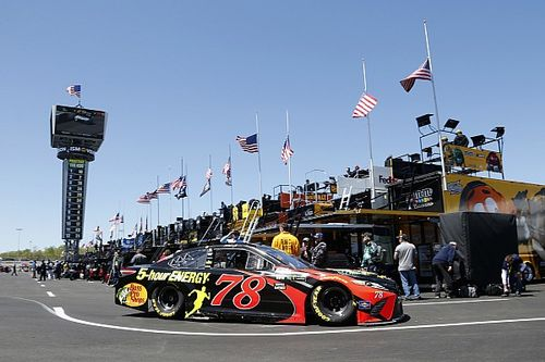 NASCAR Cup Richmond starting lineup in pictures