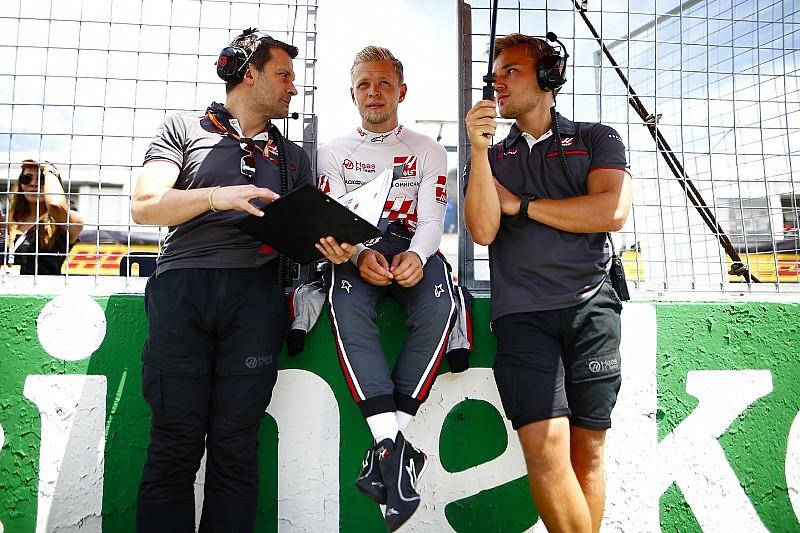 Magnussen, Haas'ın Fransa'da güçlü olmasını bekliyor