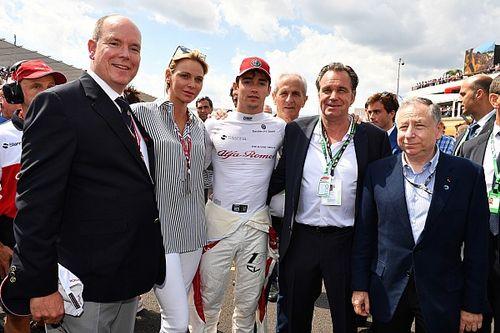 Diaporama: l'Alfa Romeo Sauber dans le Grand Prix de France