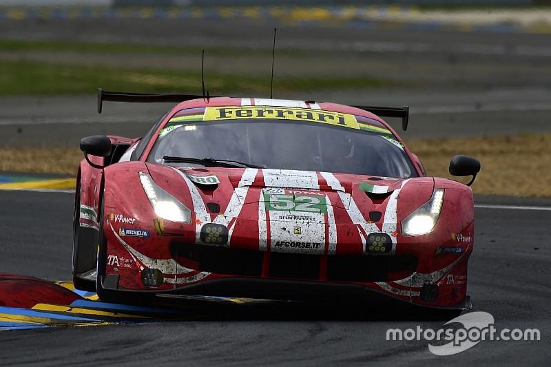 Niente terza Ferrari 488 in GTE Pro alla 24h di Le Mans