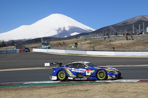 Lexus holds 1-2-3 as Super GT testing ends