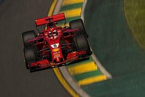 F1開幕戦FP3:雨スタートの土曜日。ベッテルがトップタイム記録