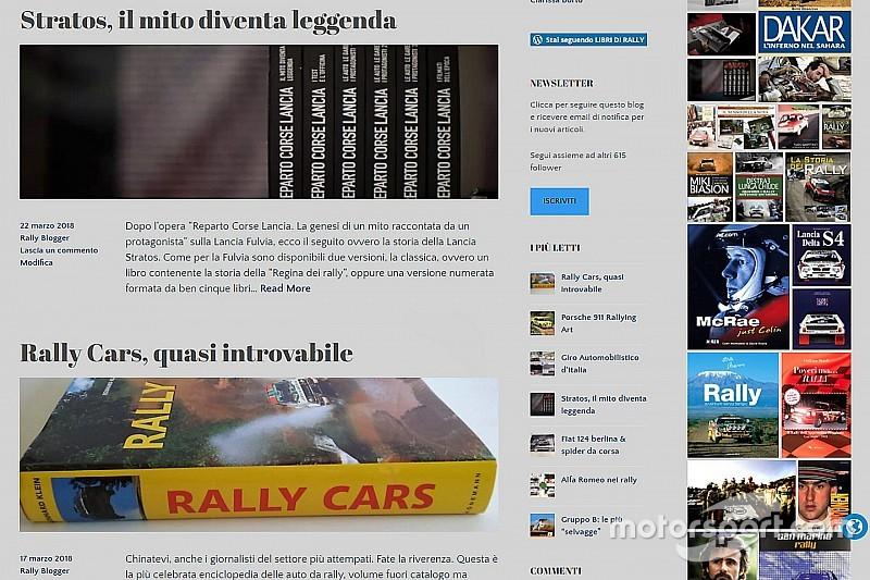 """""""Libri di Rally"""", la memoria di uno sport in un blog"""