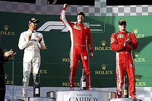 Australian GP: Vettel beats Hamilton with strategy call