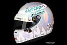 Formula 1 Ecco il casco perlato che Vettel userà al GP di Monaco 2018