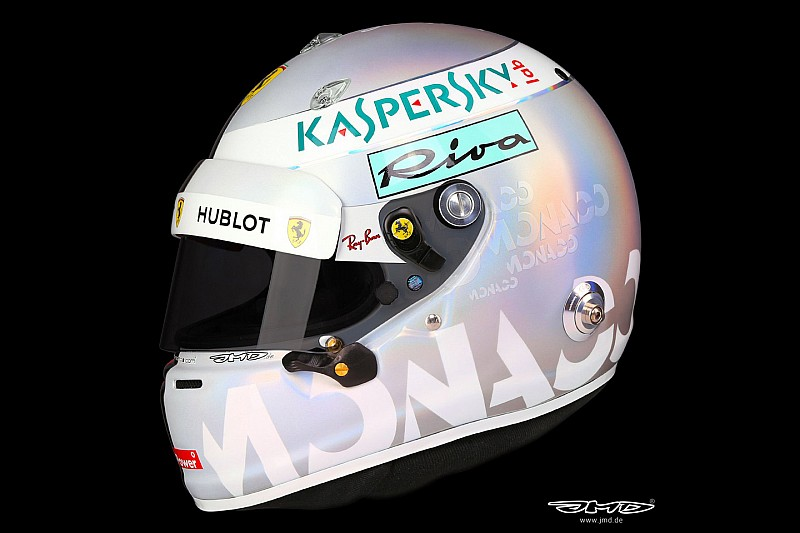 GALERIA: Veja o capacete de Vettel para o GP de Mônaco