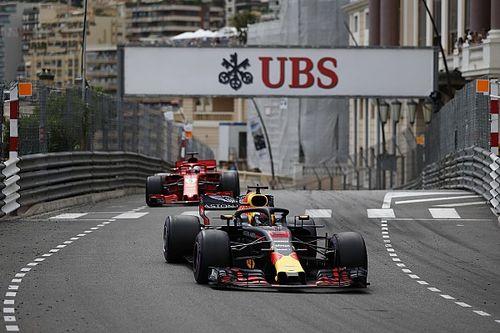 "Horner vol bewondering: ""Ricciardo won race met kwart minder vermogen"""