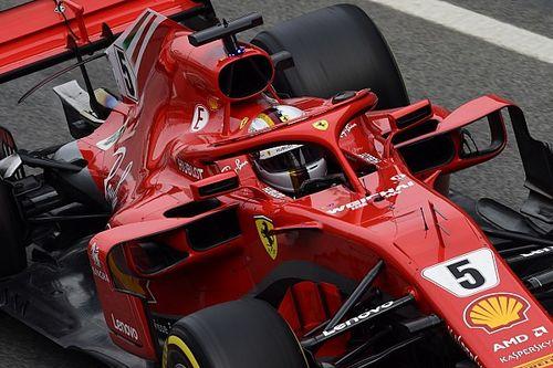 Test Barcellona, Day 2: Vettel non... gela i tifosi della Ferrari