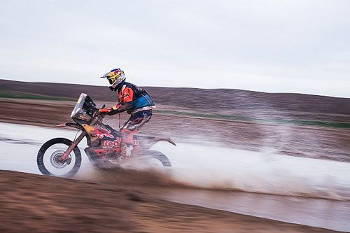 Прайс стал быстрейшим на 11-м этапе «Дакара» в зачете мотоциклов