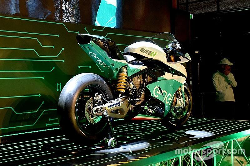 Galería: la moto de la Copa del Mundo de MotoE ya es una realidad