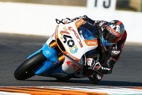 Galería: los test de Moto2 en Valencia, en imágenes