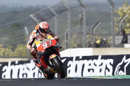 MotoGP Le Mans: Marquez rahat kazandı, Dovi ve Zarco düştü!