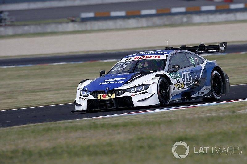 DTM Lausitzring: Eng pakt eerste DTM-pole, Frijns veertiende