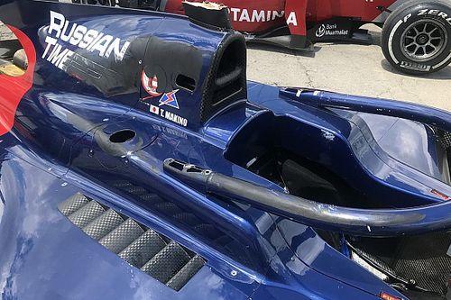 """L'Halo supera il """"crash test"""" in Formula 2 e salva Makino"""