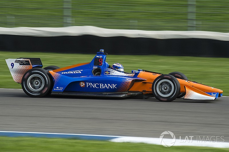 Indy GP: Dixon leads Power in warm-up