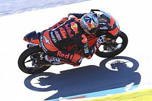 Bendsneyder mikt op podium in laatste Moto3-race