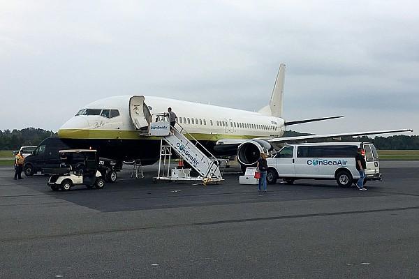 Aterrizaje de emergencia deja sin equipo de pits a la escuadra JRM