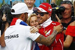 """Vettel: """"Es decepcionante, pero Hamilton fue el mejor"""""""