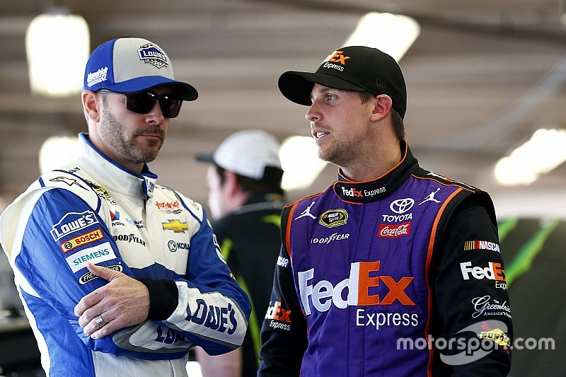 "Johnson on Hamlin: ""I don't know what he has cooking in his head"""