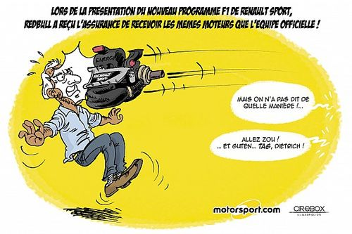 L'équité entre Renault et Red Bull vue par Cirebox!