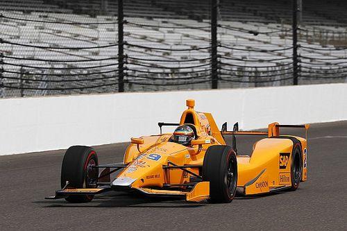 Alonso ha fatto i primi giri a Indianapolis sulla Dallara-Honda