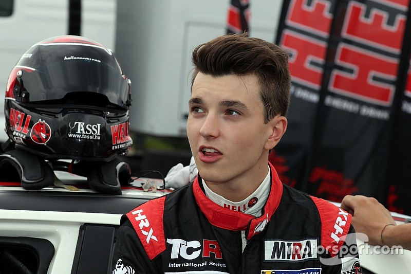 Attila Tassi, leader du TCR à 18 ans