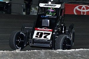 Chili Bowl Nationals: Abreu has a roller coaster Wednesday night in Tulsa
