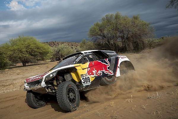 "Dakar Loeb concedes Dakar defeat: ""Pushing now would be crazy"""