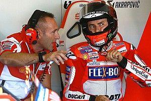 """Lorenzo: """"L'adattamento mio e della Ducati vanno circa alla stessa velocità"""""""