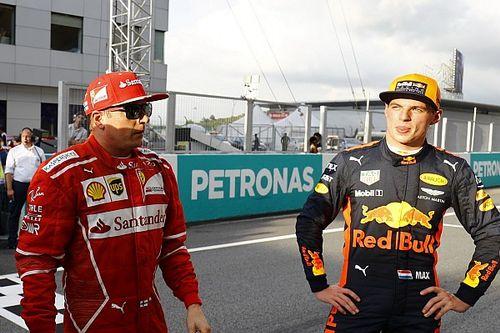 """Verstappen: """"Non voglio essere schiacciato"""". Kimi replica: """"E io colpito..."""""""