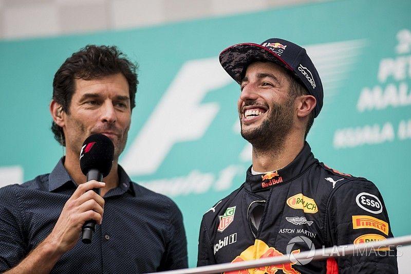 Webber: Ricciardo helye biztos az F1-ben