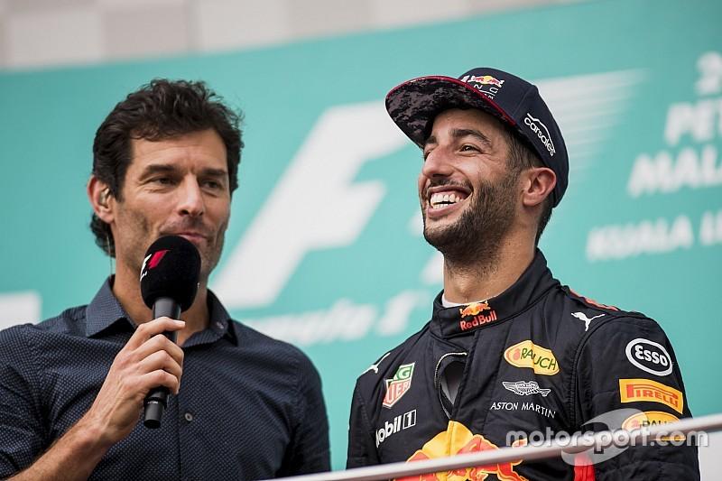 Webber: Saída de Ricciardo da Red Bull pode ser passo atrás
