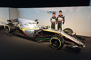 Force India desvela su VJM10 para 2017